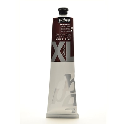 Pebeo Studio Xl Oil Paint Van Dyck Brown 200 Ml [Pack Of 2] (2PK-200030)