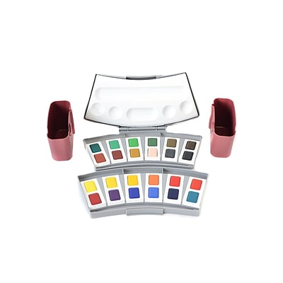 Pelikan Transparent Watercolors Set Of 24 (721894)