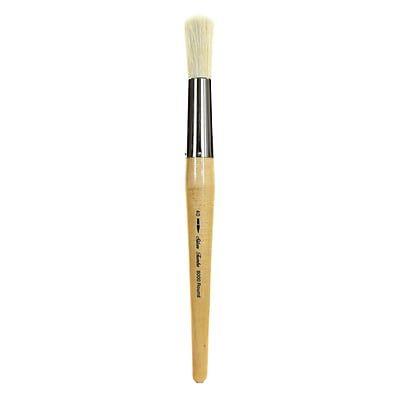 Silver Brush Silver Jumbo Oil Brushes Round 40 (8000-40)