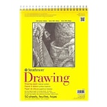 Strathmore 300 Series Drawing Paper Pads 11 x 14, Pack Of 2 (2PK-340-11-1)