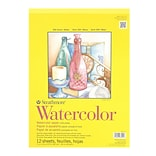 Strathmore 300 Series Watercolor Paper 11 In. X 15 In. Pad Of 12 Tape Bound [Pack Of 2] (2PK-360-111