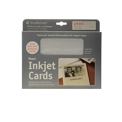 Strathmore Digital Photo Cards Pearl Finish [Pack Of 2] (2PK-59-613)