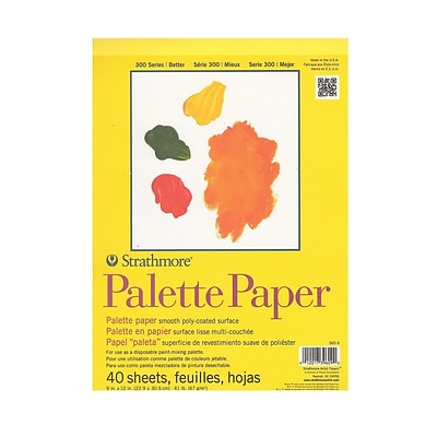 Strathmore Paper Palette Pad 9 In. X 12 In. [Pack Of 2] (2PK-365-9-1)