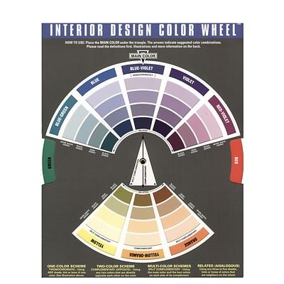 Fine The Color Wheel Company Interior Design Wheel Interior Design Color Wheel Pack Of 2 2Pk 3500 Interior Design Ideas Tzicisoteloinfo