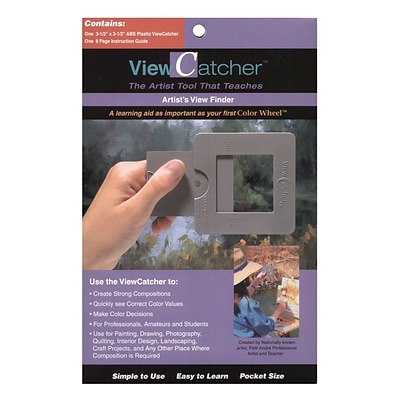 The Color Wheel Company Viewcatcher ArtistS View Finder View Finder [Pack Of 2] (2PK-7002)