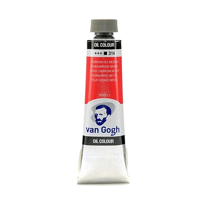 Van Gogh Oil Color Cadmium Red Medium 40 Ml (1.35 Oz) (100514800)