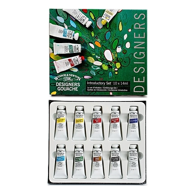 Winsor  And  Newton Designers Gouache Introductory Set Each (0690173)