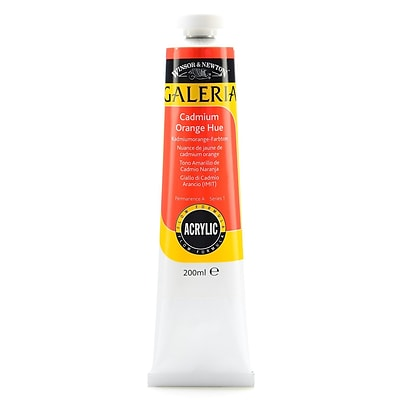 Winsor  And  Newton Galeria Flow Formula Acrylic Colours Cadmium Orange Hue 200 Ml 90 [Pack Of 2] (2PK-2136090)