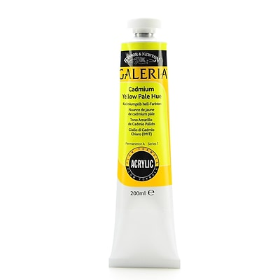 Winsor  And  Newton Galeria Flow Formula Acrylic Colours Cadmium Yellow Pale Hue 200 Ml 114 (2136114)