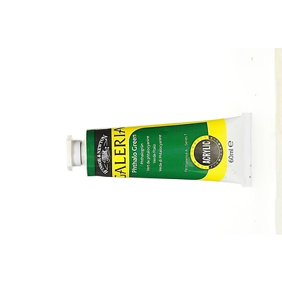 Winsor  And  Newton Galeria Flow Formula Acrylic Colours Phthalo Green 60 Ml 522 [Pack Of 4] (4PK-2120522)