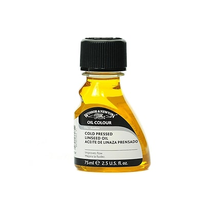 Winsor  And  Newton Linseed Oil Cold Pressed 75 Ml (3221747)
