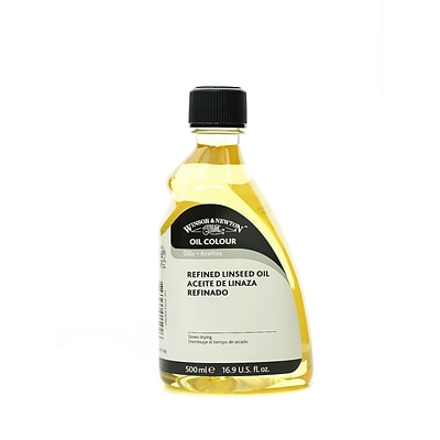Winsor  And  Newton Linseed Oil Refined 500 Ml (3249748)