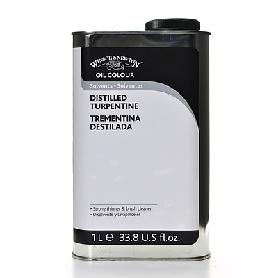 Winsor  And  Newton Oil  And  Alkyd Solvents English Distilled Turpentine Liter (3253744)