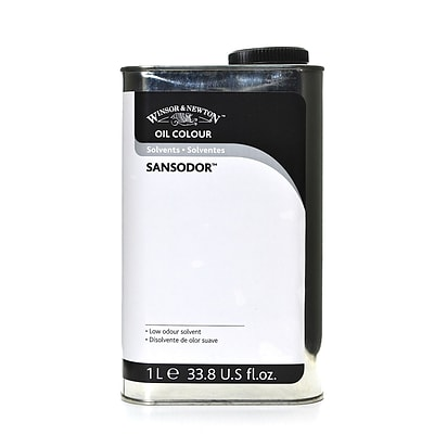 Winsor  And  Newton Oil  And  Alkyd Solvents Sansodor Low Odor Paint Thinner Liter (3253757)