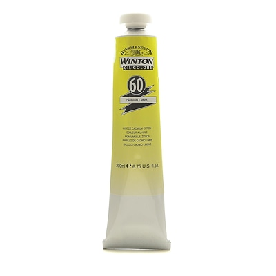 Winsor  And  Newton Winton Oil Colours 200 Ml Cadmium Lemon 60 (1437086)
