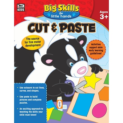 Thinking Kids Cut & Paste Workbook, Grades Preschool - K