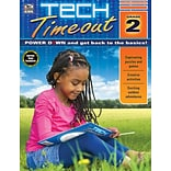 Thinking Kids Tech Timeout Activity Book, Grade 2
