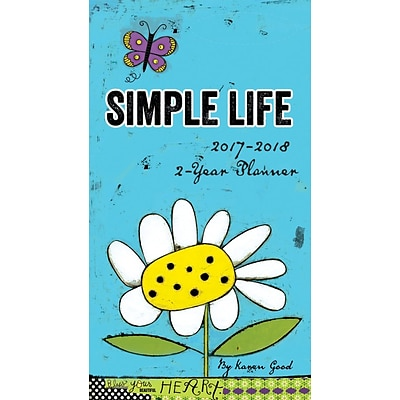 2017 LANG Simple Life Two Year Planner (17991071076)