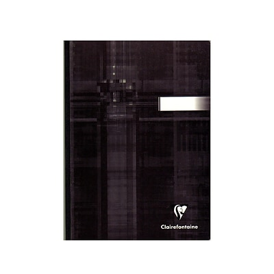 Clairefontaine Cloth-Bound Notebooks 6 In. X 8 1/4 In. Ruled 96 Sheets [Pack Of 3] (3PK-69546)