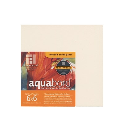 Ampersand Aquabord 6 In. X 6 In. Pack Of 4 [Pack Of 3] (3PK-CBT066)