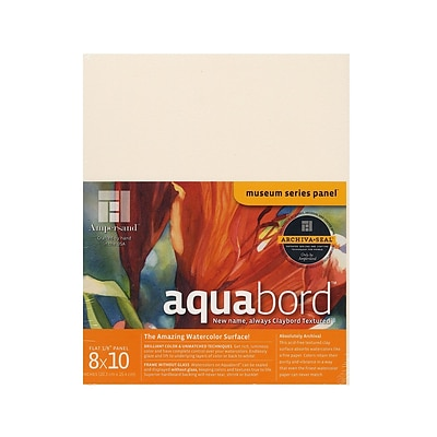 Ampersand Aquabord 8 In. X 10 In. Each [Pack Of 3] (3PK-CBT08)