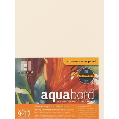 Ampersand Aquabord 9 In. X 12 In. Each [Pack Of 3] (3PK-CBT09)