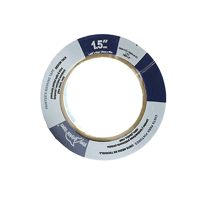 Blue Dolphin Tapes PainterS Tape For Professionals 1 1/2 In. X 180 Ft. [Pack Of 3] (3PK-BDT 0150)