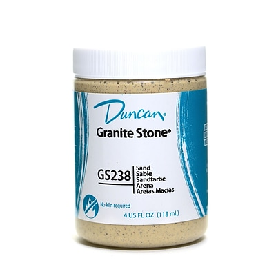 Duncan Granite Stone Sand 4 Oz. [Pack Of 3] (3PK-GS238-4 96927)