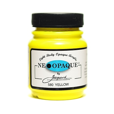 Jacquard Neopaque Colors Yellow [Pack Of 3] (3PK-JAC1580)