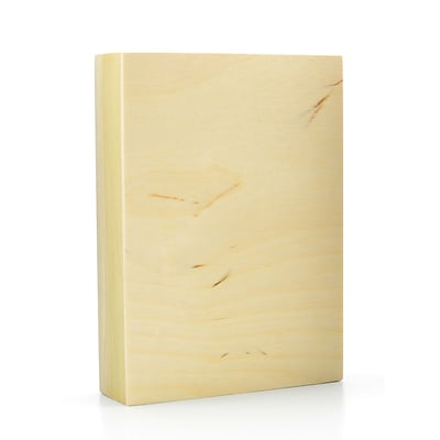 American Easel 1 5/8 In. Cradled Wood Painting Panels 5 In. X 7 In. [Pack Of 3] (3PK-AE0507-D)