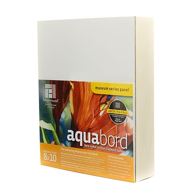 Ampersand Deep Cradle Aquabord 8 In. X 10 In. (CBTW08)