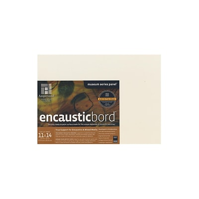 Ampersand Encausticbord 11 In. X 14 In. 1/4 In. Each (EN1114)