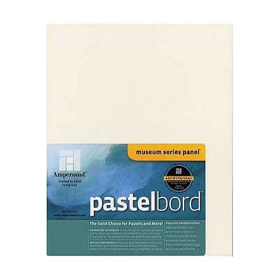 Ampersand Pastelbord 11 In. X 14 In. White Each (PBW11)