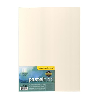Ampersand Pastelbord 12 In. X 16 In. White Each (PBW12)