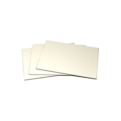 Ampersand Pastelbord 5 In. X 7 In. White Pack Of 3 (PBW05)