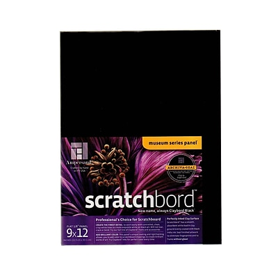 Ampersand Scratchbord 9 In. X 12 In. Each (CBB09)