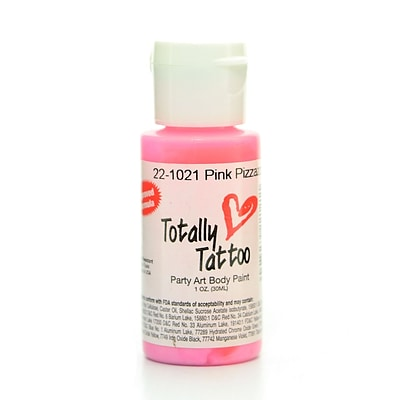 Badger Totally Tattoo System Body Paint Pink Pizzazz 1 Oz. [Pack Of 2] (2PK-TT-1021)