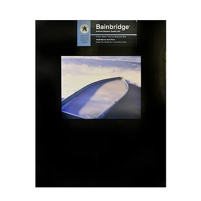 Bainbridge Archival Museum Quality Mat 16 In. X 20 In. Landscape For 8 In. X 10 In. Black (AB10L)