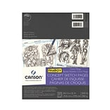 Canson Fanboy Concept Sketch Pages, 8-1/2 In. x 11 In., Pad Of 10 Sheets, Pack Of 4 (4PK-100510875)