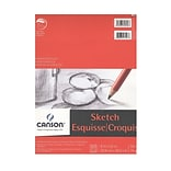 Canson Foundation Sketch Pads, 9 In. x 12 In., 50 Sheets, Pack Of 4 (4PK-100511029)
