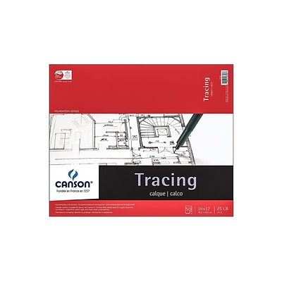 Canson Tracing Pad, 14 In. x 17 In. (100510962)