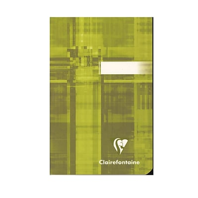 Clairefontaine Classic Staple-Bound Notebooks Ruled 3 1/2 In. X 5 1/2 In. 48 Sheets [Pack Of 10] (10PK-63596)