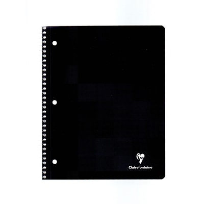 Clairefontaine Classic Wirebound Notebooks 8 1/2 In. X 11 In. Ruled With Margin, 3-Hole Punched 90 Sheets (8267)
