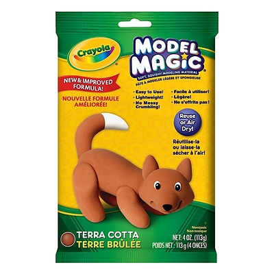 Crayola Model Magic Terra Cotta 4 Oz. Each [Pack Of 4] (4PK-57-4464)