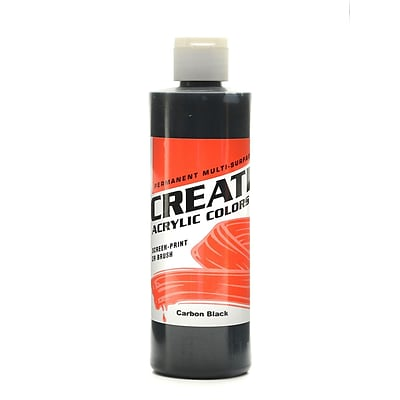 Createx Acrylic Colors Carbon Black 8 Oz. [Pack Of 3] (3PK-2015-08)