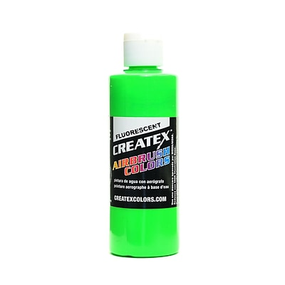 Createx Airbrush Colors Fluorescent Green 4 Oz. [Pack Of 3] (3PK-5404-04)