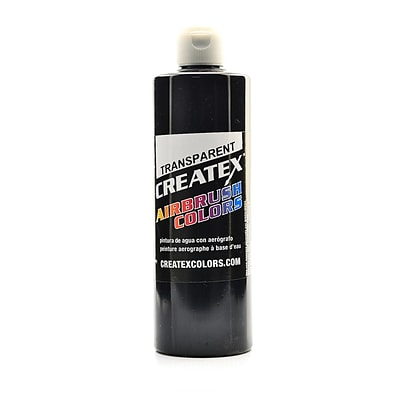 Createx Airbrush Colors Transparent Black 16 Oz. (5132-16)