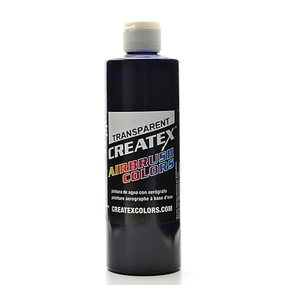 Createx Airbrush Colors Transparent Deep Blue 16 Oz. (5108-16)