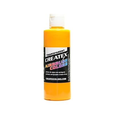 Createx Airbrush Colors Paint, Transparent Sunrise Yellow 4 Oz., 3/Pk (3PK-5113-04)