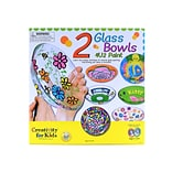 Creativity For Kids Two Glass Bowls 4 U 2 Paint Two Glass Bowls (1337)